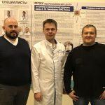 Ответный визит в клинику МЧС коллег из Беларуси