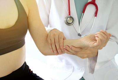 Рассекающий остеохондрит локтевого сустава